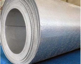Anti-scratch color coated aluminum coil