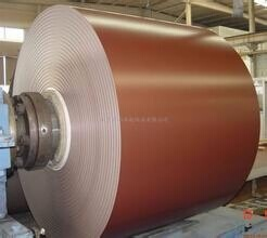 PE color coated aluminum coil