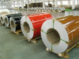 Nano color coated aluminum coil