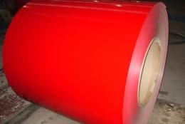 Nano color coated aluminum coil